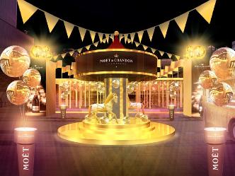 モエ・エ・シャンドン|耀くシャンパンゴールドの世界へ誘う