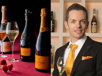 """""""ヴーヴ・クリコ""""のブランドアンバサダーと過ごす、シャンパンの魅力に迫る一夜"""