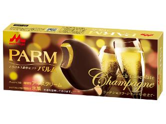 シャンパンのフルーティーで華やかな香りが楽しめる「PARM(パルム)リッチショコラ~シャンパン仕立て~」