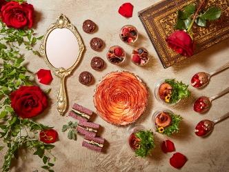 ザ・リッツ・カールトン大阪|「美女と野獣」のチョコレートアフタヌーンブッフェ