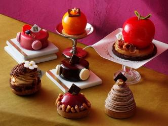 セバスチャン・ブイエ|フランス・リヨンに本店を構えるパティシエの秋冬のガトーコレクション