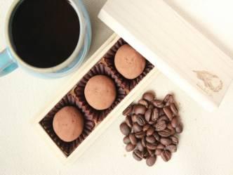 「コーヒー好きのためのトリュフ」アジアのスペシャルティコーヒー使用