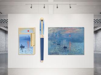エス・テー・デュポン|モネの「印象、日の出」を描いた美しい限定コレクション