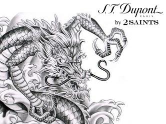 エス・テー・デュポン|美しいタトゥーを描いたコレクション