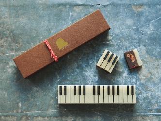 湯布院発のピアノスイーツ「ジャズ羊羹」の冬季限定のチョコレート羊羹「ショコラ」