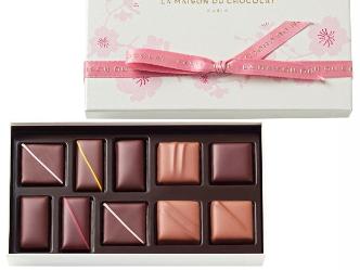 ラ・メゾン・デュ・ショコラ|桜を愛でる優しい心を、ショコラでも