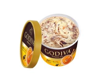 ゴディバ|カップアイス「蜂蜜アーモンドとチョコレートソース」数量限定販売