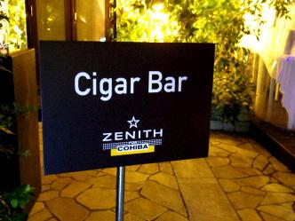 ZENITH × COHIBA NOCHE CUBANA ゼニス×コイーバナイト