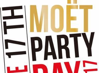 """世界がモエ・エ・シャンドンの魔法にかかる """"MOET PARTY DAY TOKYO 2017"""""""